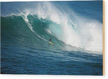 Waimea Bay Hawaii Wood Print by Kevin Smith