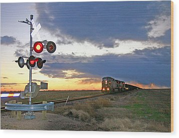 Wood Print featuring the photograph Wait Your Turn by Shirley Heier