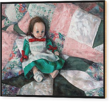 Waiting For Chloe Wood Print
