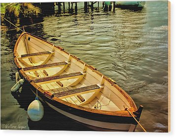 Waiting For The Fisherman Wood Print by Wallaroo Images