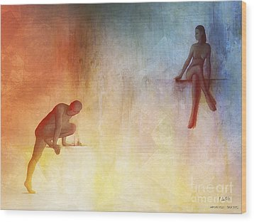 Waking Hells Wood Print by Pedro L Gili