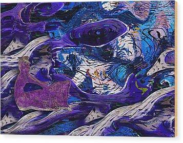 Waking In A Dream Wood Print by Jack Zulli