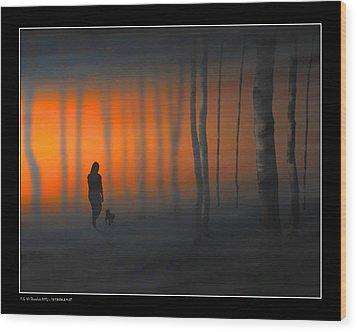 Walking Kurt Wood Print