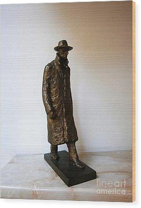 Walking Man Wood Print by Nikola Litchkov