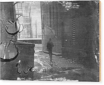 Walks Of Life Wood Print by Trevor Garner