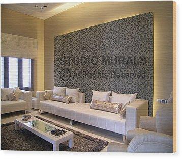 Wall Mural Wood Print by Milind Badve
