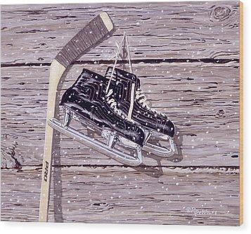 Wall Of Fame Wood Print by Richard De Wolfe