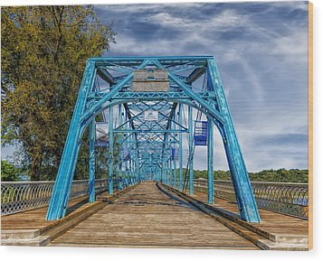 Walnut Street Bridge - 1890 - Chattanooga Wood Print