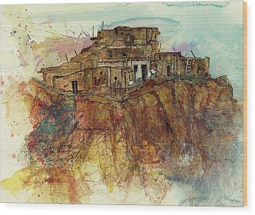 Walpi Village First Mesa  Hopi Reservation Wood Print