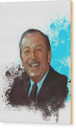 Walt Disney Wood Print