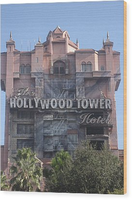 Walt Disney World Resort - Hollywood Studios - 121225 Wood Print by DC Photographer