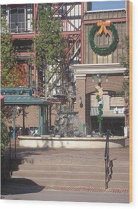 Walt Disney World Resort - Hollywood Studios - 121231 Wood Print by DC Photographer