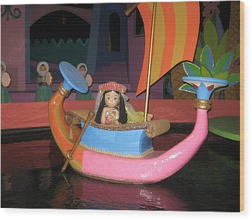 Walt Disney World Resort - Magic Kingdom - 1212114 Wood Print by DC Photographer