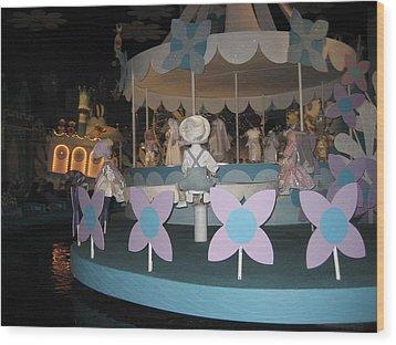 Walt Disney World Resort - Magic Kingdom - 1212122 Wood Print by DC Photographer