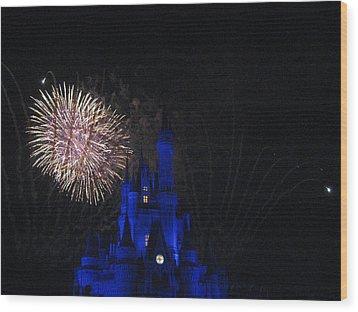 Walt Disney World Resort - Magic Kingdom - 121232 Wood Print by DC Photographer