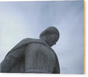 War Memorial  Wood Print by Cheryl Hoyle