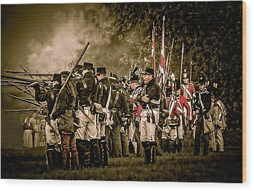 War Of 1812 Wood Print by Bianca Nadeau
