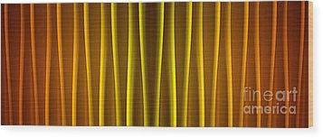 Warm Curtain Wood Print