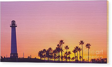 Warm Sunset Wood Print by Gem S Visionary