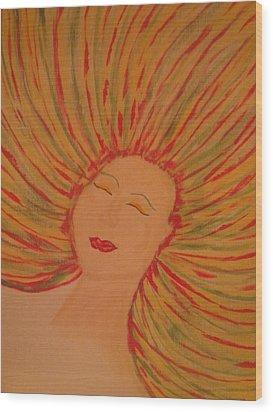 Warm Thoughts Wood Print by Erica  Darknell