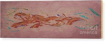 Warmth Wood Print by Arlene Sundby