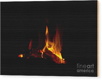 Warmth Wood Print by Timothy J Berndt