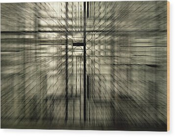 Warp Gate Wood Print by Frederico Borges