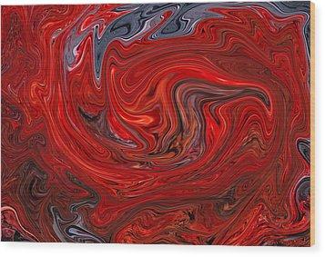 Flight Of The Phoenix  Wood Print