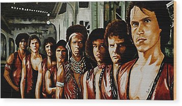 Warriors Come Out To Play Wood Print by Al  Molina