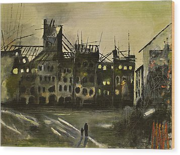 Warsaw 1945 Wood Print