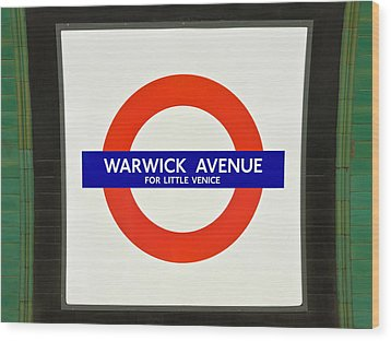 Warwick Station Wood Print by Keith Armstrong