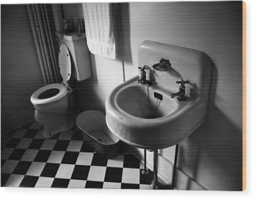 Wash Hands  Wood Print by Jerry Cordeiro