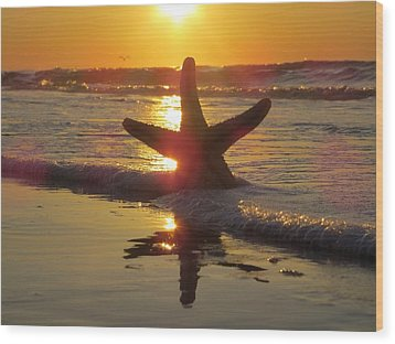 Wood Print featuring the photograph Washed Ashore by Nikki McInnes