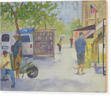 Washington Dc  Wood Print
