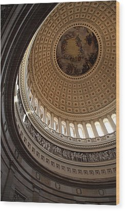 Washington Dc - Us Capitol - 011315 Wood Print by DC Photographer