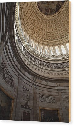 Washington Dc - Us Capitol - 01138 Wood Print by DC Photographer