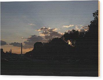 Washington Dc - Washington Monument - 01134 Wood Print by DC Photographer