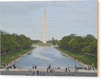 Washington Monument 1 Wood Print by Tom Doud