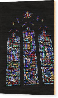 Washington National Cathedral - Washington Dc - 011313 Wood Print by DC Photographer