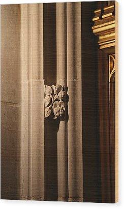 Washington National Cathedral - Washington Dc - 011330 Wood Print by DC Photographer