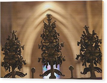 Washington National Cathedral - Washington Dc - 011331 Wood Print by DC Photographer