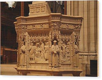 Washington National Cathedral - Washington Dc - 011333 Wood Print by DC Photographer