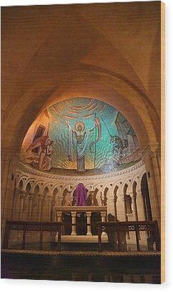 Washington National Cathedral - Washington Dc - 011337 Wood Print by DC Photographer