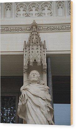 Washington National Cathedral - Washington Dc - 011343 Wood Print by DC Photographer
