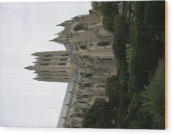 Washington National Cathedral - Washington Dc - 011350 Wood Print by DC Photographer