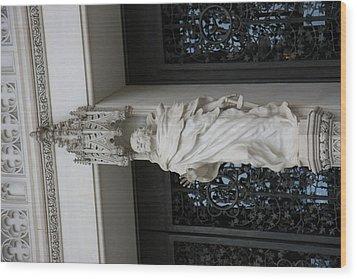 Washington National Cathedral - Washington Dc - 011353 Wood Print by DC Photographer