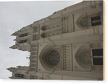 Washington National Cathedral - Washington Dc - 011355 Wood Print by DC Photographer