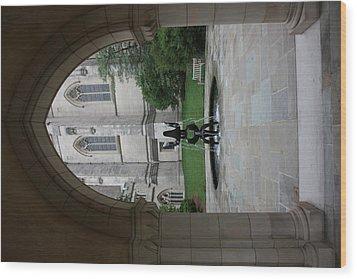 Washington National Cathedral - Washington Dc - 011359 Wood Print by DC Photographer