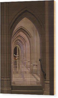 Washington National Cathedral - Washington Dc - 01136 Wood Print by DC Photographer