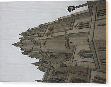 Washington National Cathedral - Washington Dc - 011367 Wood Print by DC Photographer